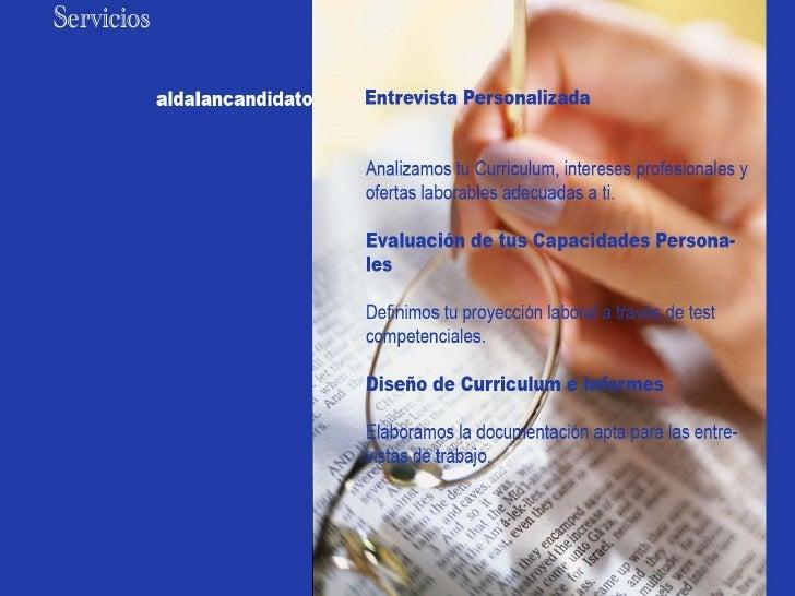 Presentación aldalan candidato2011 Slide 3