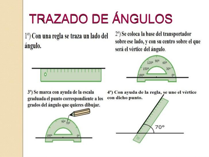 Resultado de imagen para como dibujar angulos