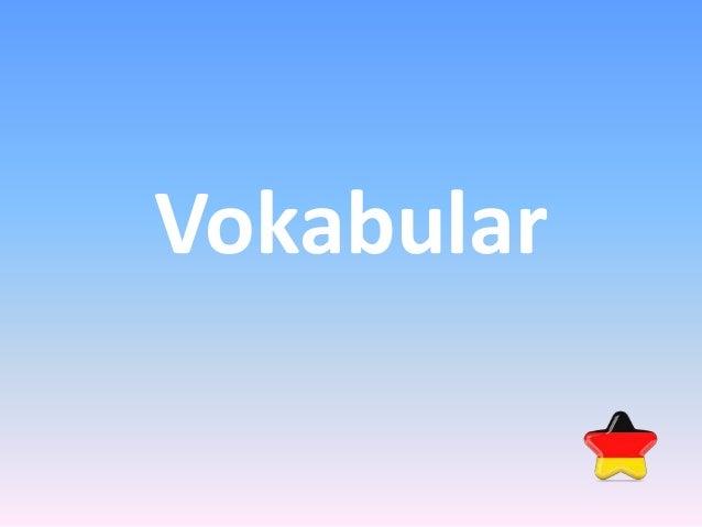 Vokabular
