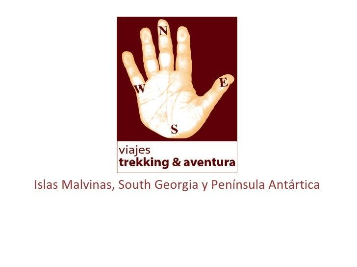 Islas Malvinas, South Georgia y Península Antártica