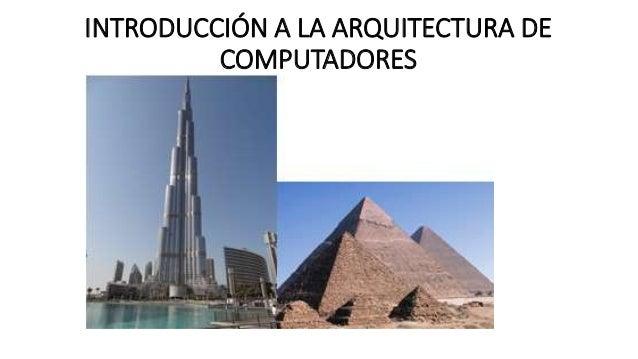Presentaci n arquitectura de computadores for Arquitectura de computadores