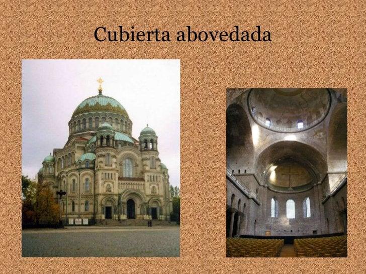 Cubierta abovedada<br />