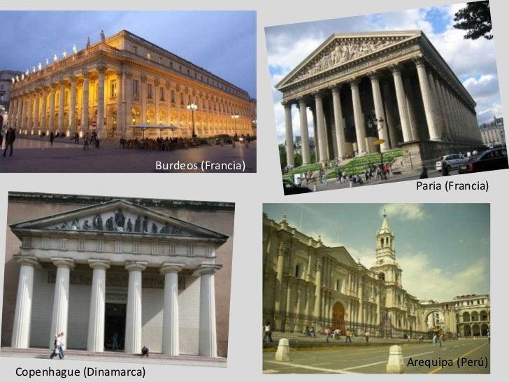 Burdeos (Francia)<br />Paria (Francia)<br /> Arequipa (Perú)<br />Copenhague (Dinamarca)<br />