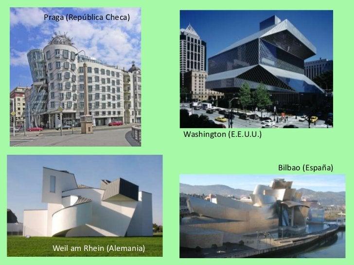 Praga (República Checa)<br />Washington (E.E.U.U.)<br />Bilbao (España)<br />Weil am Rhein (Alemania)<br />