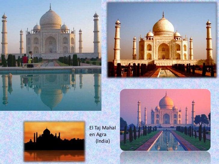 El TajMahal en Agra <br />     (India)<br />