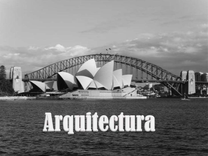 presentaci u00f3n arquitectura