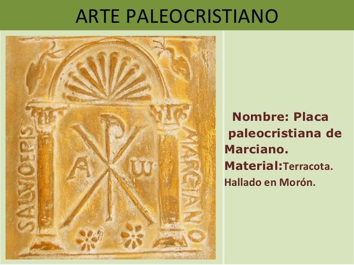 Presentaci N Arte Paleocristiano