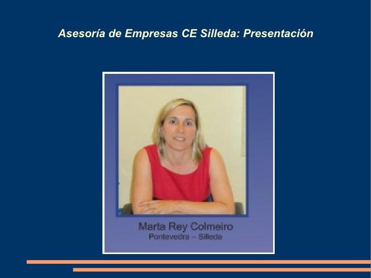 Asesoría de Empresas CE Silleda: Presentación