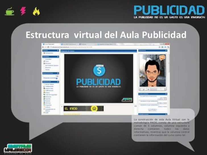 Presentaci n aula virtual publicidad for Aula virtual fp valencia