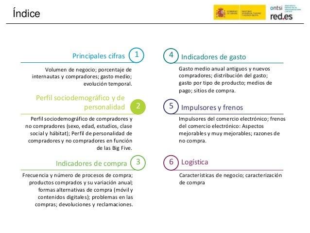 Índice 1 4Principales cifras Indicadores de gasto Gasto medio anual antiguos y nuevos compradores; distribución del gasto;...