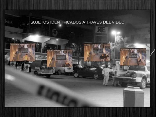 """SUJETOS IDENTIFICADOS A TRAVES DEL VIDEO   .5»  - Is:  A .1}.   """"   'í _. ._"""