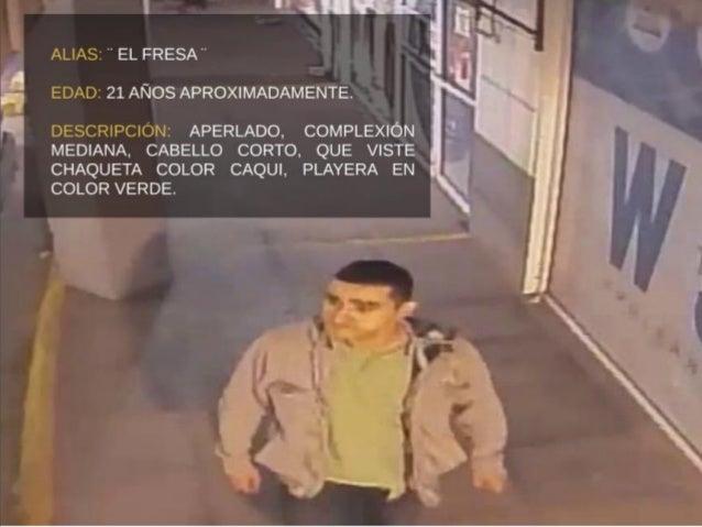 """ALIAS:  """"EL FRESA"""" N  EDAD:  21 AÑOS APROXIMADAMENTE.    DESCRIPCIÓN:  APERLADO,  COMPLEXIÓN MEDIANA,  CABELLO CORTO,  QUE..."""