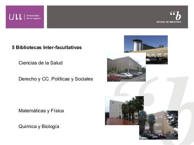 Presentaci n biblioteca de ciencias econ micas y for Arquitectura tecnica ull
