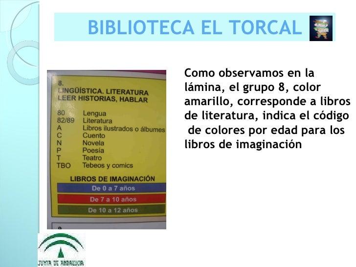 Presentación biblioteca el torcal