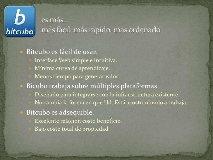 Bitcubo - Presentación General Slide 3
