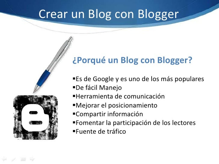 Presentación blogger Slide 3