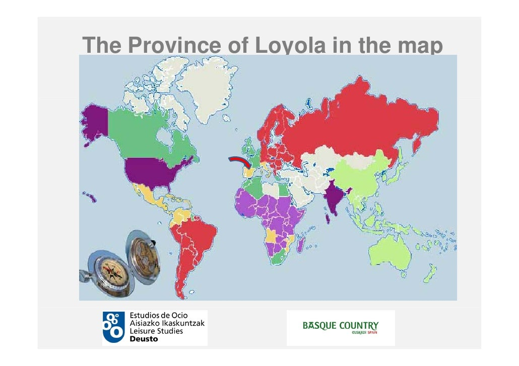 Loyola Spain Map.Jesuitengunea The Society Of Jesus Tourism Development Project In Th