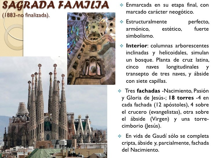 Gaudi arquitectura hecha piedra - Estilo sagrada familia ...