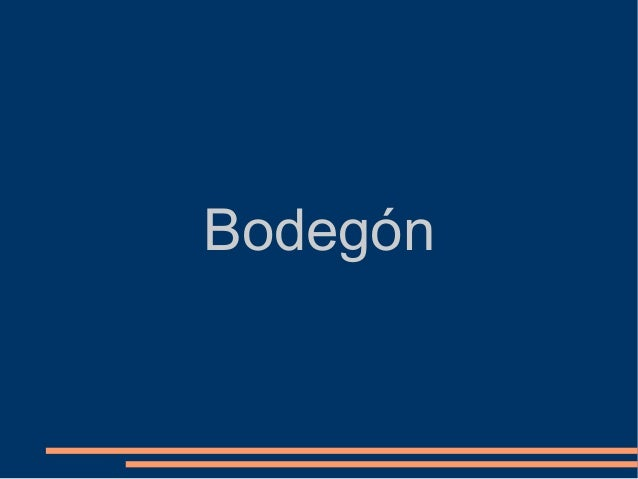 Bodegón