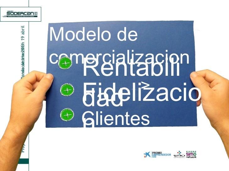 Rentabilidad Modelo de comercializacion Clientes Sastifechos Fidelizacion v