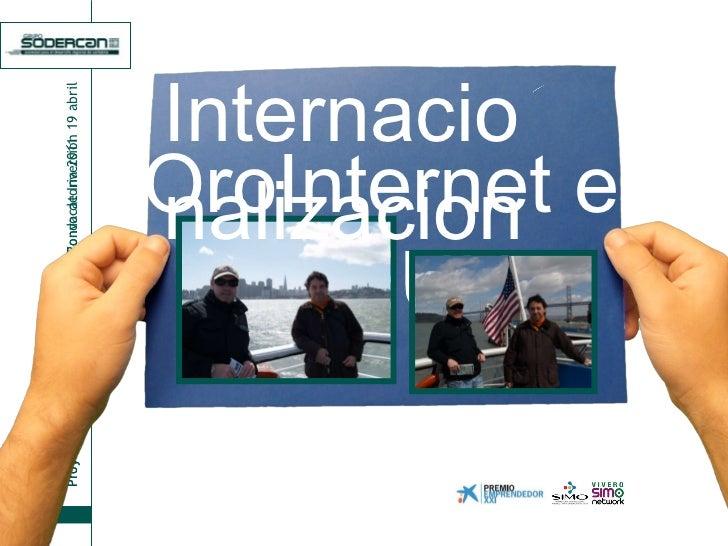 OroInternet en EEUU Internacionalizacion