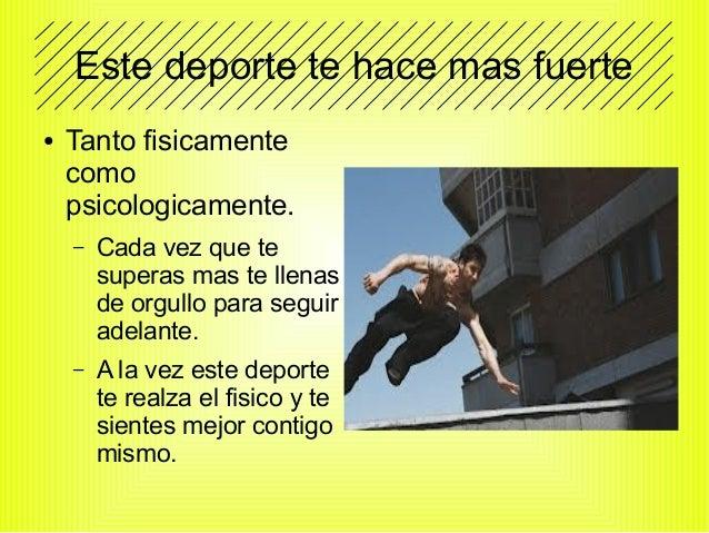 Presentación, sobre el parkour en Sevilla. By BorjaSonic. Slide 3