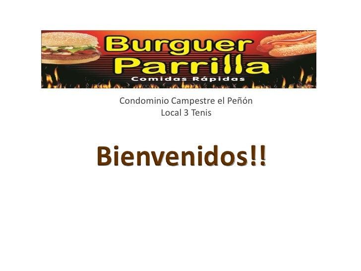 Condominio Campestre el Peñón         Local 3 TenisBienvenidos!!