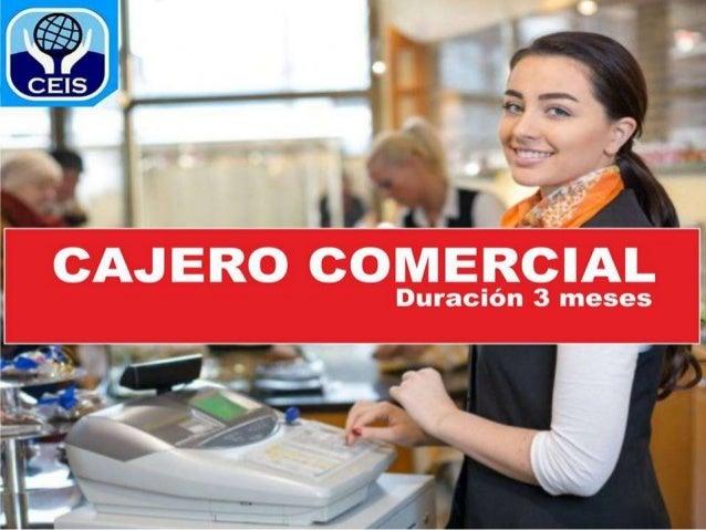 Presentacion cajero comercial for Buscador de cajeros