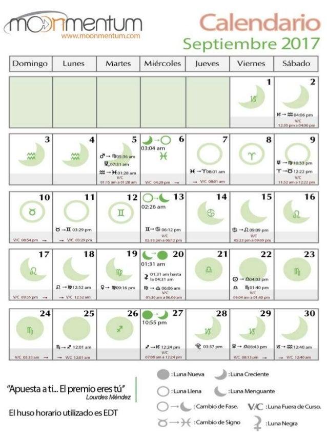 Calendario De Septiembre.Calendario Septiembre 2017