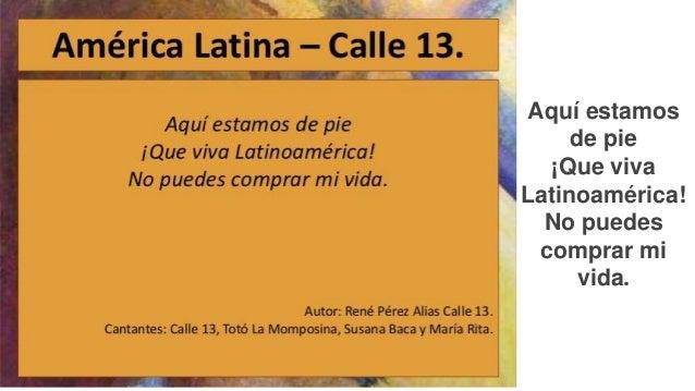 Presentación Calle 13 Latinoamérica