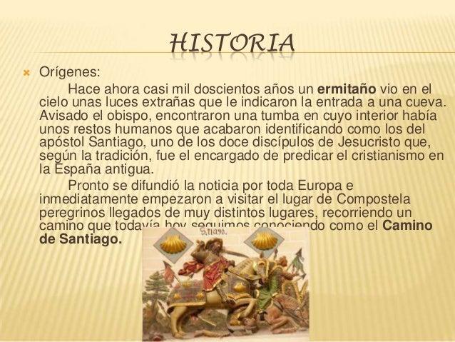 Presentacion Camino De Santiago