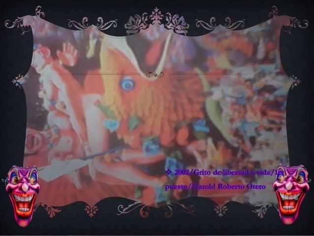 Presentación con diapositivas carnaval  de pasto