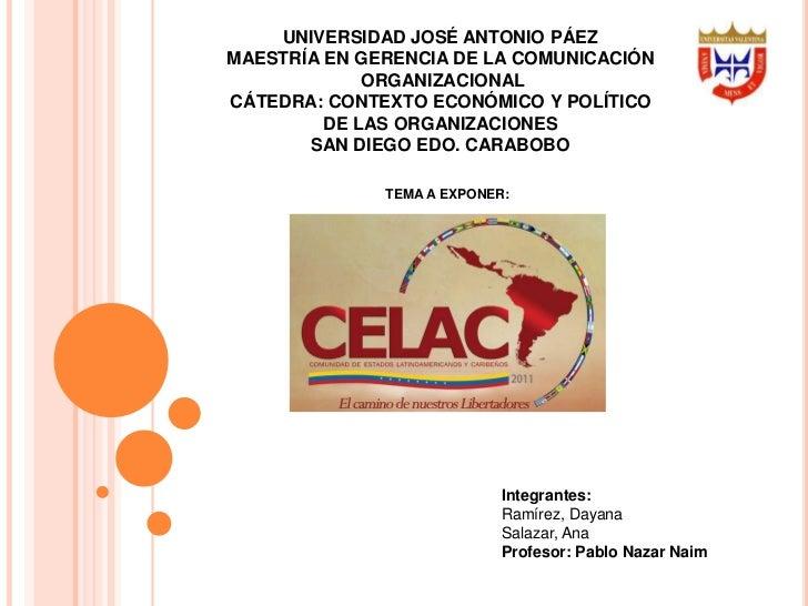 UNIVERSIDAD JOSÉ ANTONIO PÁEZMAESTRÍA EN GERENCIA DE LA COMUNICACIÓN             ORGANIZACIONALCÁTEDRA: CONTEXTO ECONÓMICO...