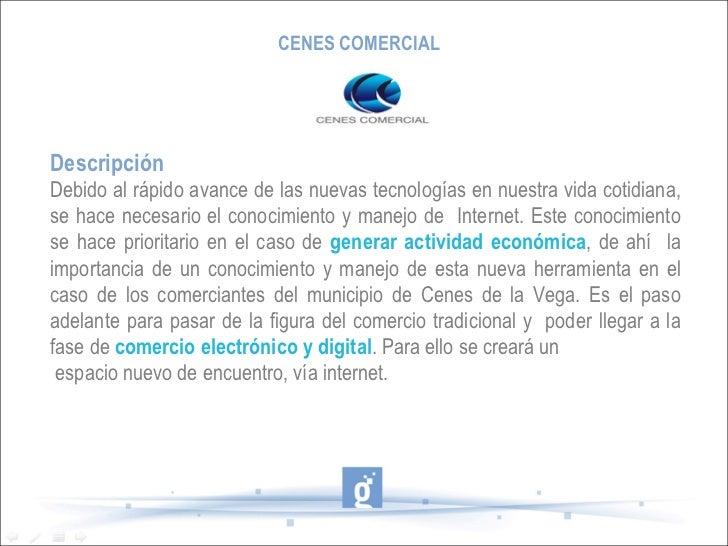 Presentación cenes comercial Slide 2