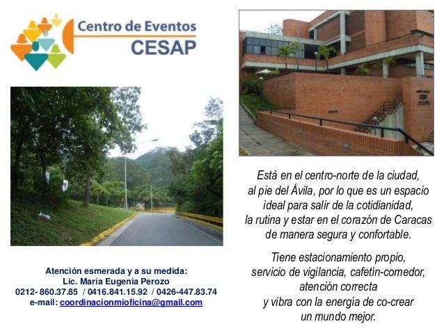 Está en el centro-norte de la ciudad, al pie del Ávila, por lo que es un espacio ideal para salir de la cotidianidad, la r...