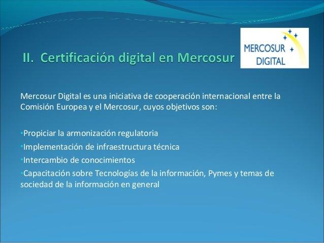 Mercosur Digital es una iniciativa de cooperación internacional entre la Comisión Europea y el Mercosur, cuyos objetivos s...