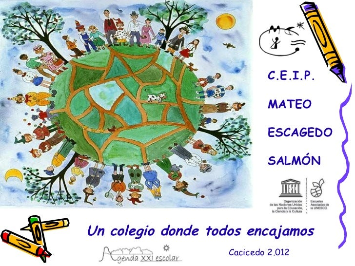 C.E.I.P.                            MATEO                            ESCAGEDO                            SALMÓNUn colegio ...
