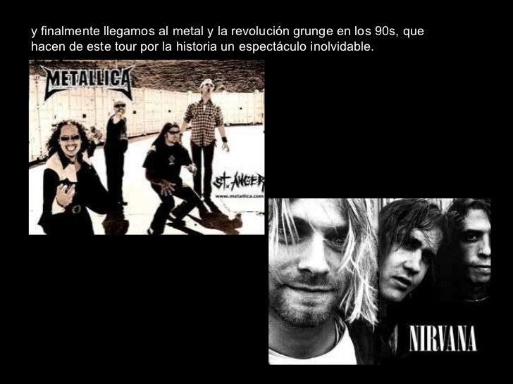 Concierto didactico la historia del rock for Espectaculo historia del rock