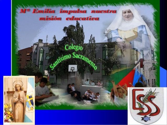 IDENTIFICACIÓN         Localización: C/ Arturo Soria, 208 (Madrid. ESPAÑA) www.ssacramento.org / ssacramento@planalf...