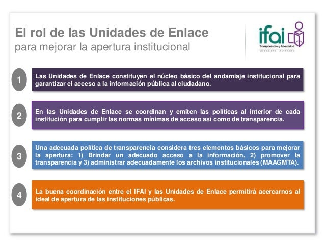 El IFAI no es la fuente única de soluciones y mejores prácticas en materia de transparencia…