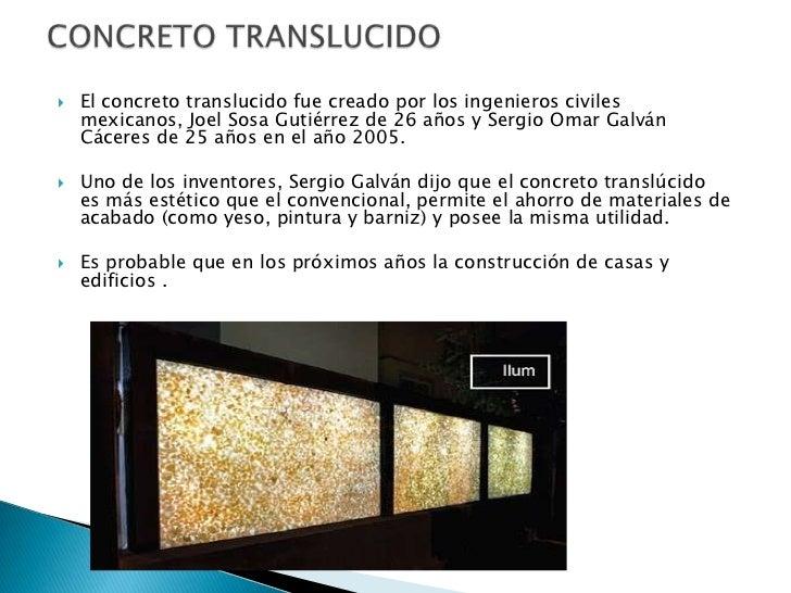 4 el concreto translucido - Hormigon Traslucido
