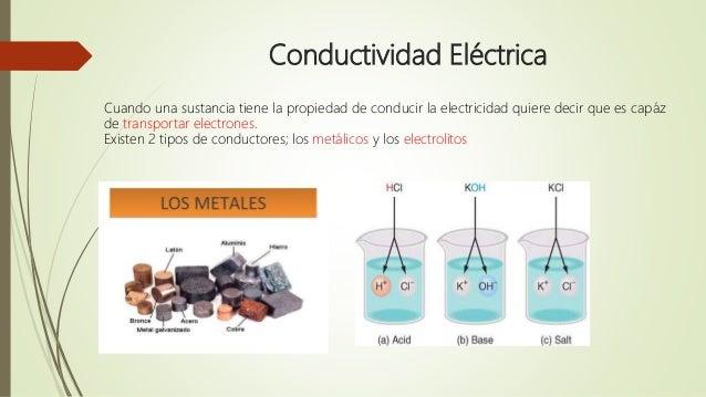 Presentación conductividad eléctrica