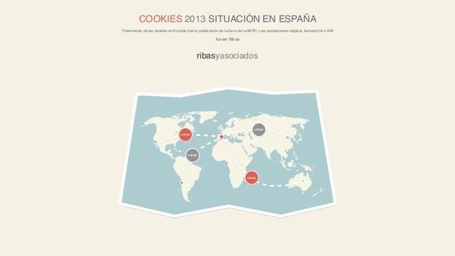 COOKIES 2013 SITUACIÓN EN ESPAÑATratamiento de las cookies en España tras la publicación de la Guía de la AEPD y las asoci...