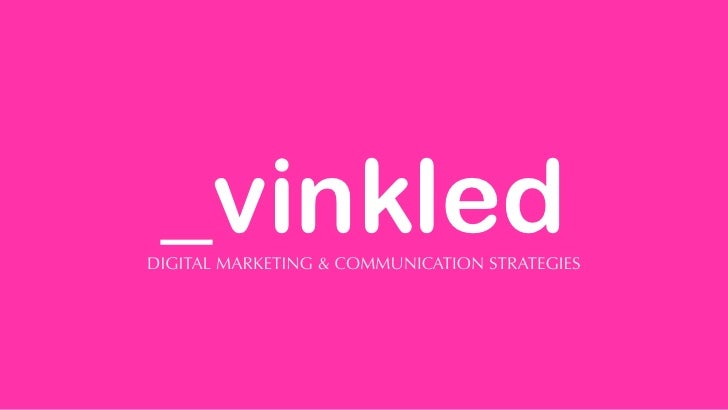 _vinkledDIGITAL MARKETING & COMMUNICATION STRATEGIES