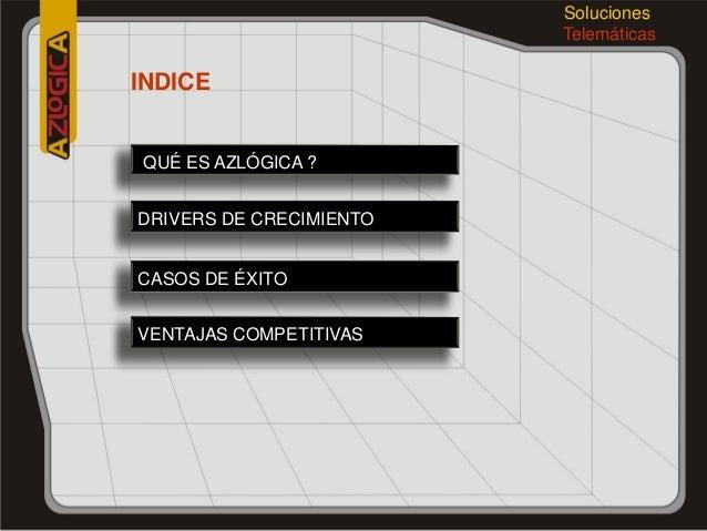 Presentación  Corporativa AZLOGICA 2013 Slide 2