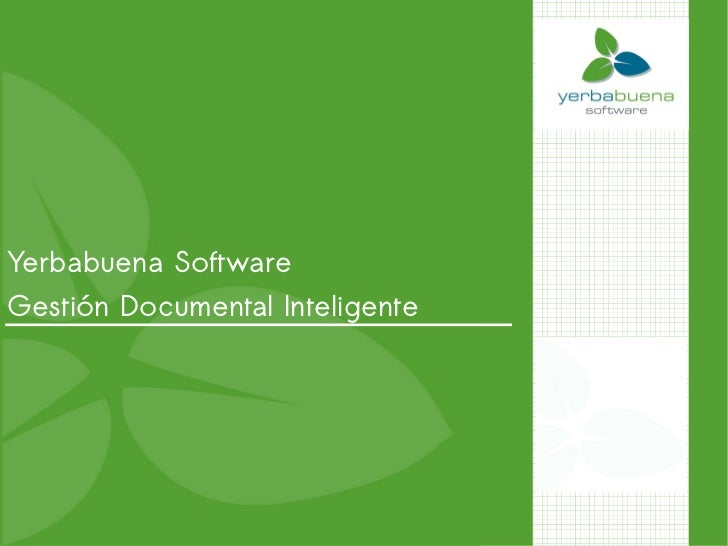 Yerbabuena SoftwareGestión Documental Inteligente