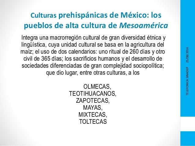 Presentacion Culturas Prehispanicas