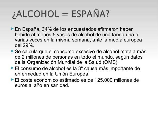 El resumen de la lección al tema el alcoholismo