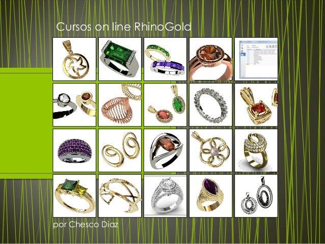 Cursos on line RhinoGold por Chesco Diaz