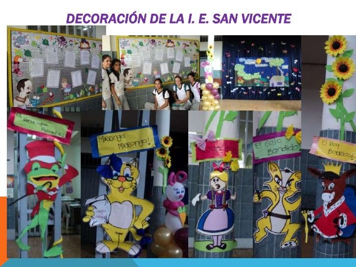 Presentaci n d a del idioma ie san vicente palmira 2012 - Pombo decoracion ...